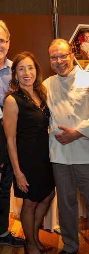 Holly Lee of Covenant House and Chef Jens Nannestad of Southside Bistro
