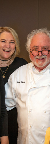 Nicki Hale of Volunteers of America and Restaurateur Van Hale of