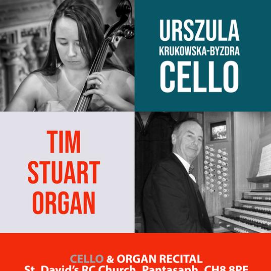 Urszula and Tim Stuart in Pantasaph recital