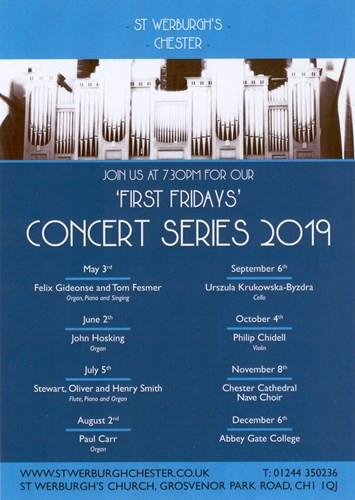 Recital with John Hosking - organ