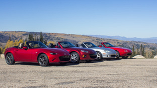 Driving All Four MX5 / Miatas: Is this the Answer?