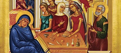 The first Feast of the Liturgical Year is the Birth of the Virgin Mary