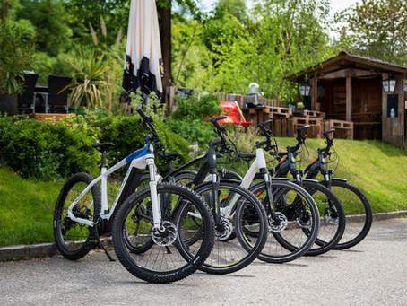 Unsere neuen E-Bikes sind eingetroffen