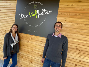 Ab heute haben wir geöffnet! Erste Fotos von unserem Hofladen