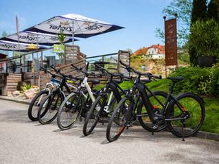 E-Bike mieten bei Cafe Pension Rafaela - unsere Preise