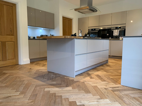 Oak flooring adds character to newbuild property