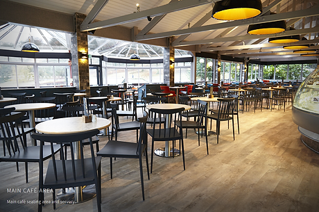 Commercil LVT flooring to Cafe