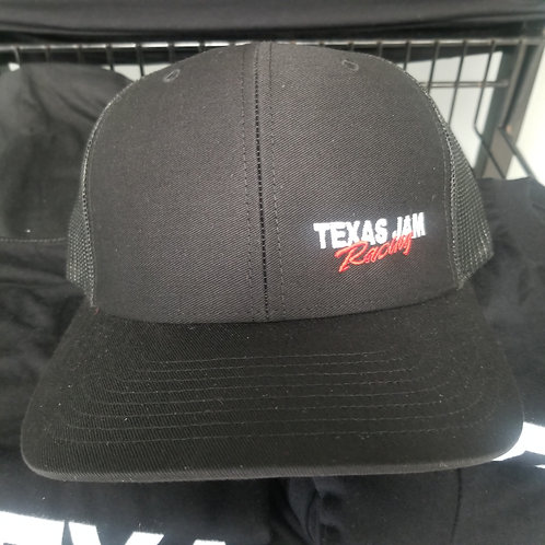 Black Texas Jam Racing Hat