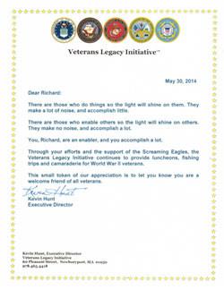 Veteran's Legacy Initiative