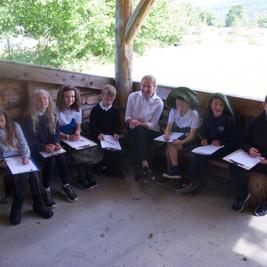 Children in the Outdoor Classroom