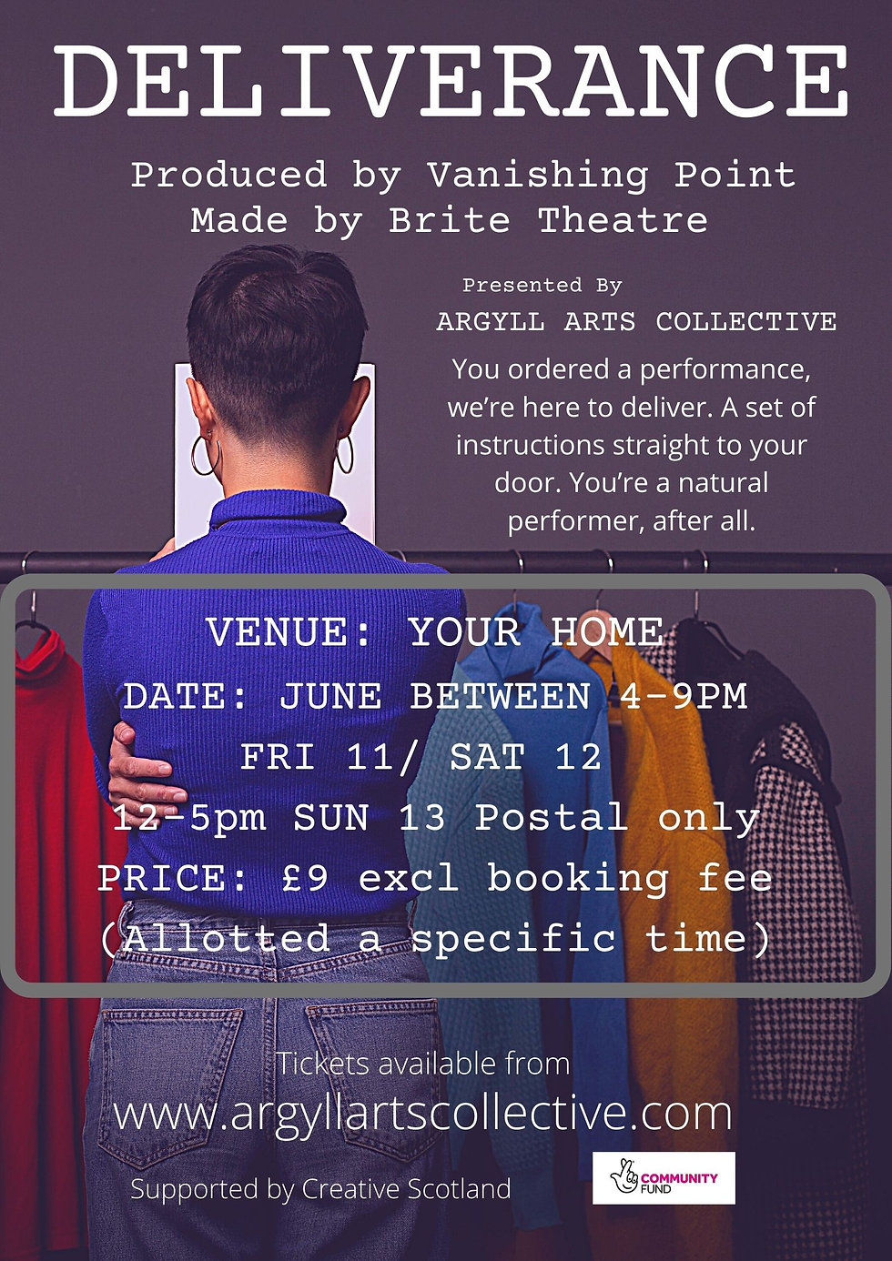 DELIVERANCE BY BRITETHEATRE Produced by