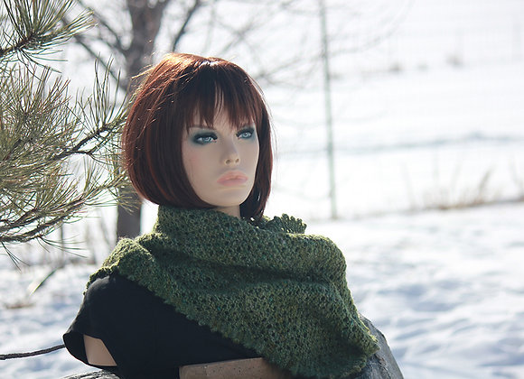 Kerchief-style scarf