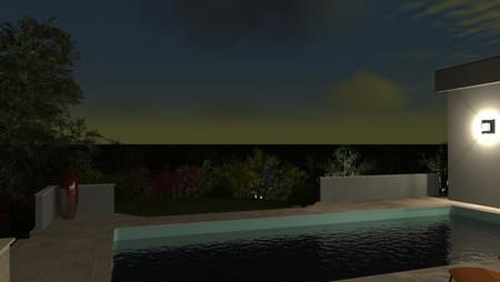 Terrasse de jardin à Epinal