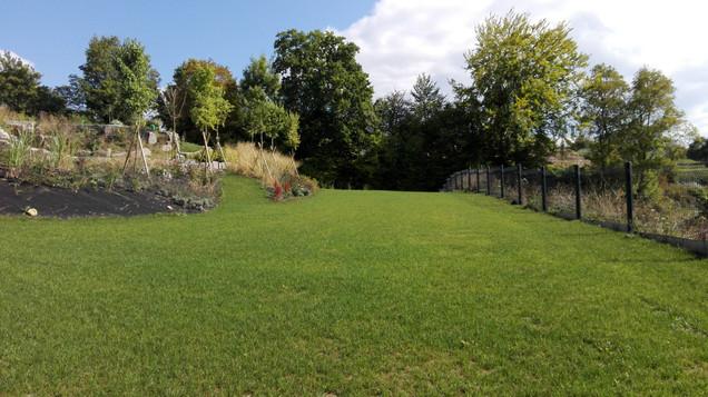Plantation de jardin