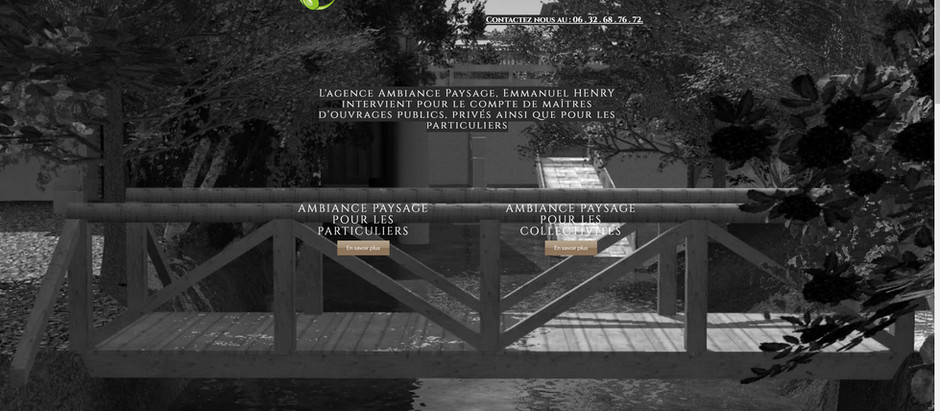 Bientôt AMBIANCE PAYSAGE de retour sur la toile avec un nouveau site tout neuf !