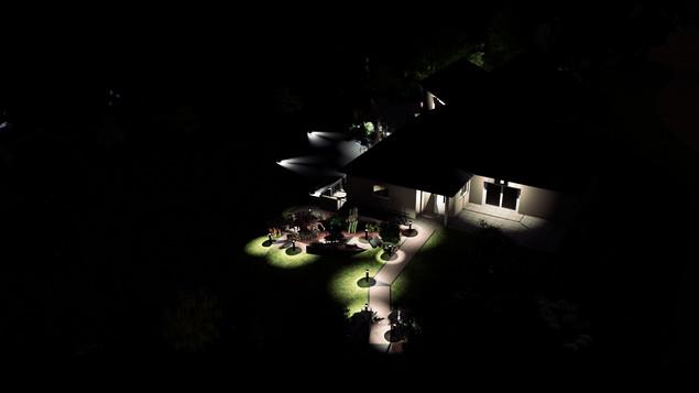 Aérienne de nuit