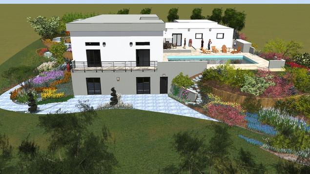 Création d'une terrasse originale