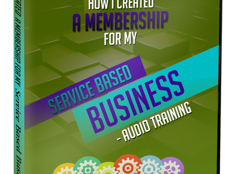 How I Created A Membership For My Service-Based Business