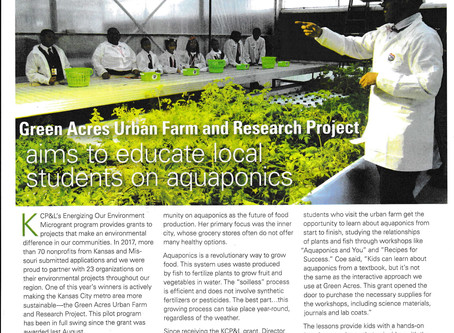 Green Acres Urban Farm and Research Project aims to educate local students on aquaponics