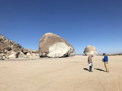 Dan and Mike at Giant Rock.HEIC