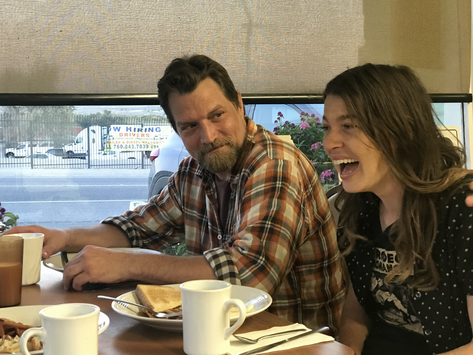 Mike and Nicholette at Diner.HEIC
