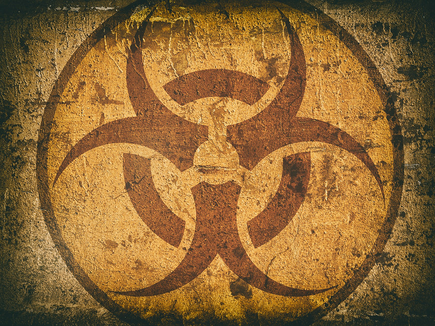 076876648-bio-hazard-symbol-cracked-ston