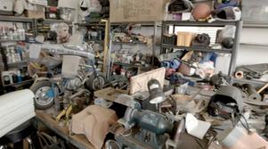 Carl's garage.