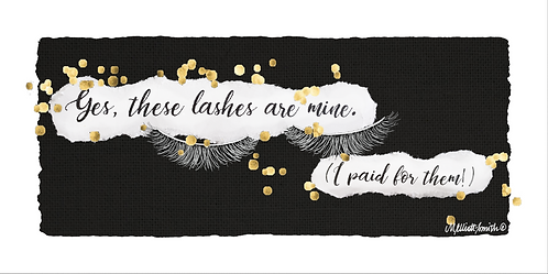 Yes, These Lashes are Mine!