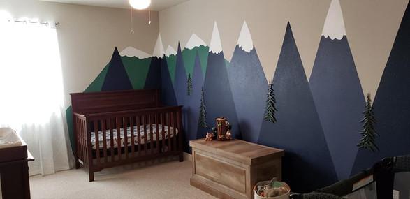 Nursery for baby boy