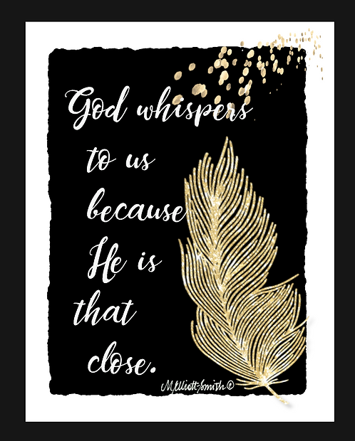 God Whispers to Us