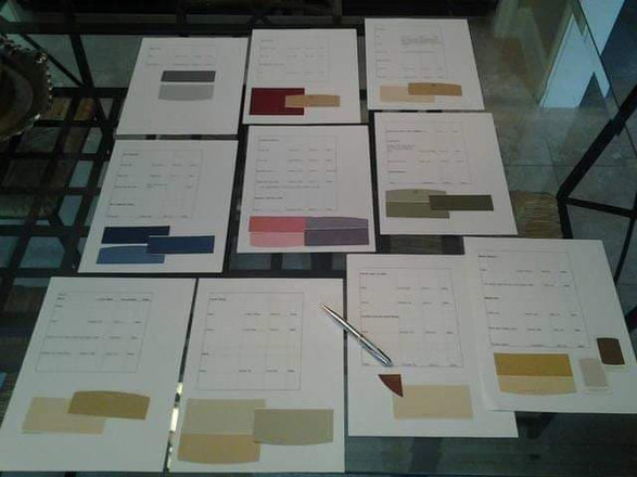 A whole-house color plan for a large family