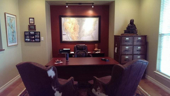 Home Office at a ranch