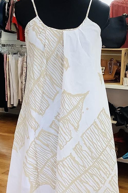 NEW! Bahama Hand  Prints Dress
