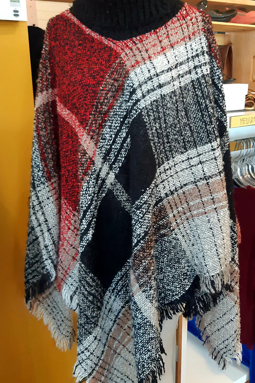 Claire France Poncho