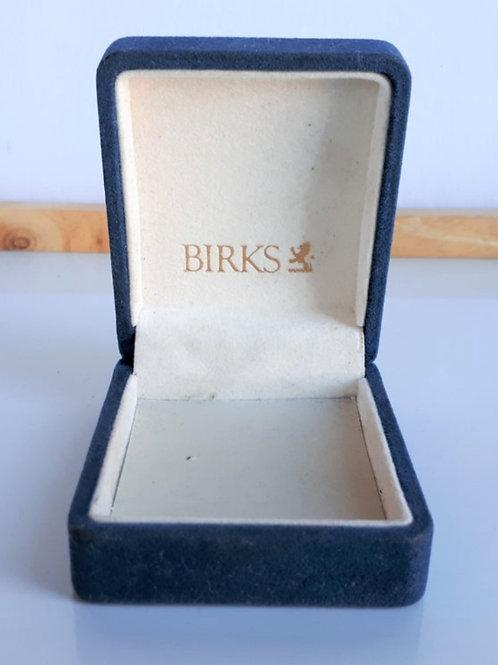 Antique Birks Velvet Box (Empty)