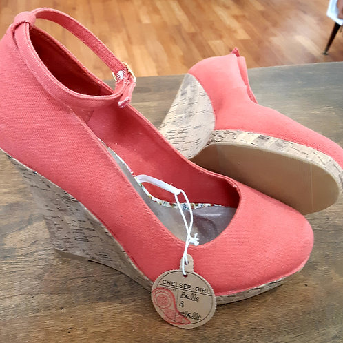NWT! Chelsee Girl Wedges
