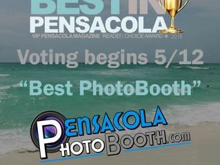 Vote Us as Best Photo Booth for VIP Pensacola's Best In Pensacola Competition!