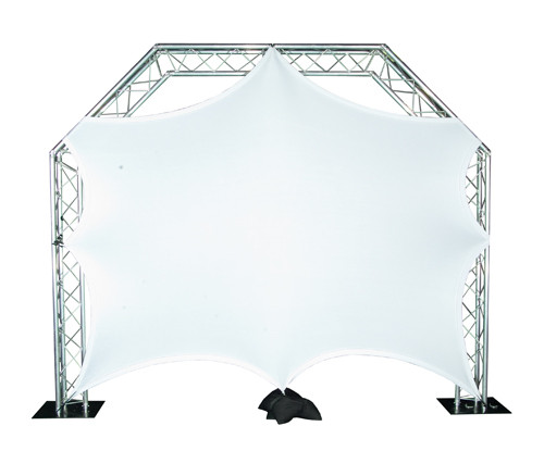 Global Truss Lycra Video Screen from A DJ Connection, A/V Audio Visual Services