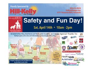 Pensacola Photo Booth Sponsors KlaasKIDS Foundation's Safety Day!