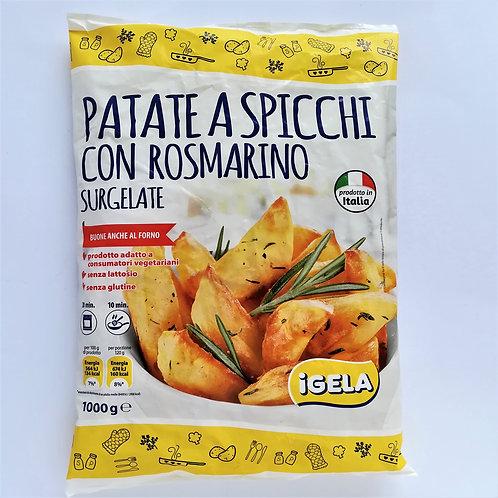 Igela Patate A Spicchi C/Rosm. 1 Kg