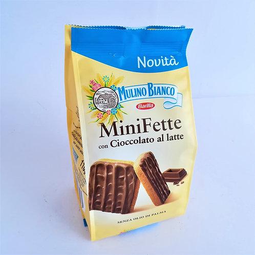 Barilla Mini Fette Cioc.Latte 110Gr