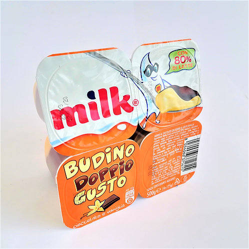 Milk Budino Ciocc Vanig. 4X125 Gr