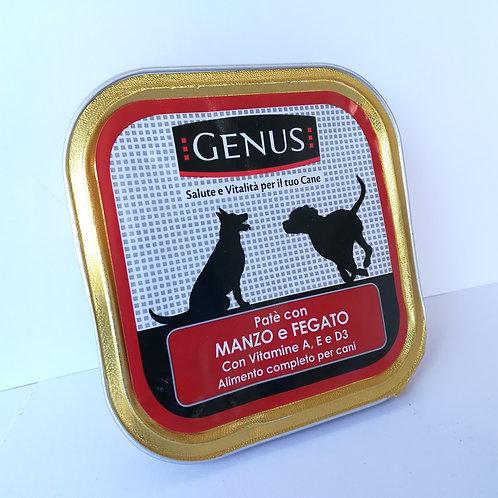 Genus Pate' Cane Manzo Fegato 150 Gr