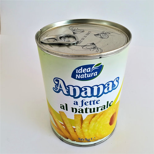 Idea Natura Ananas Fet Nat. Lat. 565 Gr