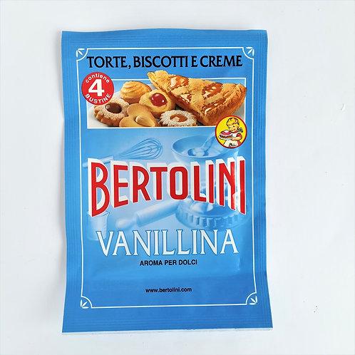 Bertolini Vanillina X4 Bustine