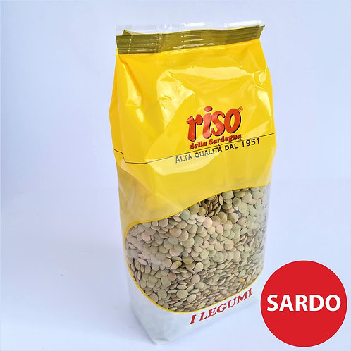 Riso Sardegna Lenticchie Gig. 500 Gr