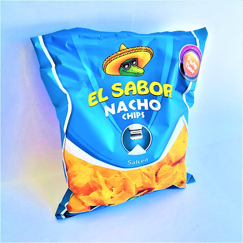 El Sabor Nacho Chips Natural 225 Gr