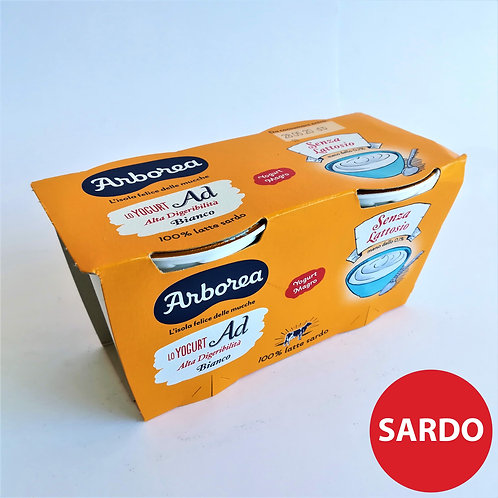 Arborea Yogurt Ad Bianco Nat. 2X125 Gr