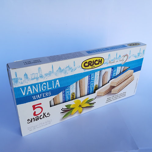 Crich Wafer Vaniglia Gr. 45X6