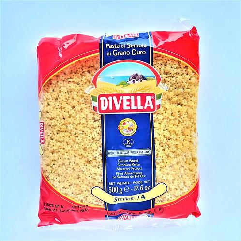Divella Pasta Stelline 74 500 Gr